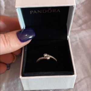 Pandora two hearts ring size 8.5